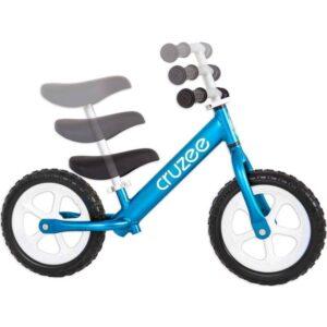 cruzee balance bike blue with white wheels adjustments xchange sports Australia ml