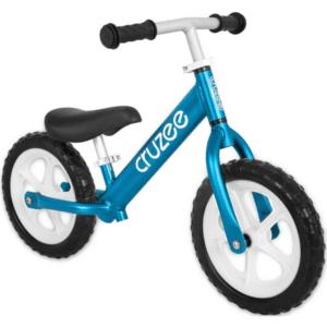 cruzee balance bike blue with white wheels xchange sports Australia ml