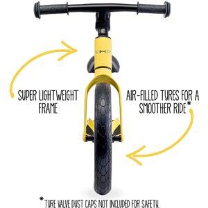 Hornit Airo Balance Bike Yellow front