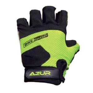 Kids Bike Gloves Lime Green Youth Size Xchange Sports Australia.jpg
