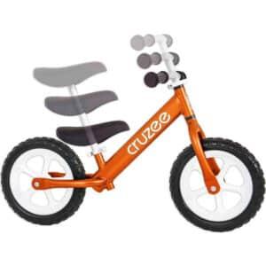 cruzee balance bike orange with white wheels adjustments xchange sports Australia