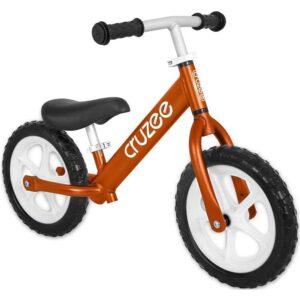 cruzee balance bike orange with white wheels xchange sports Australia ml